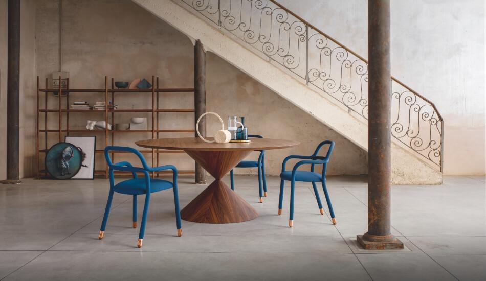 Tavolo Clessidra design Paolo Vernier