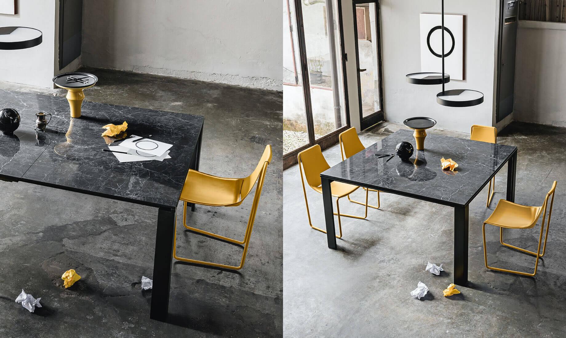 Midj - Pantone 2021 - Apelle Chair Marcopolo Table