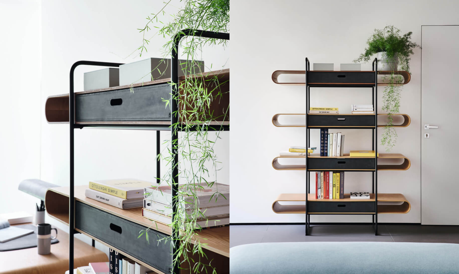 Details Apelle bookcase - Midj