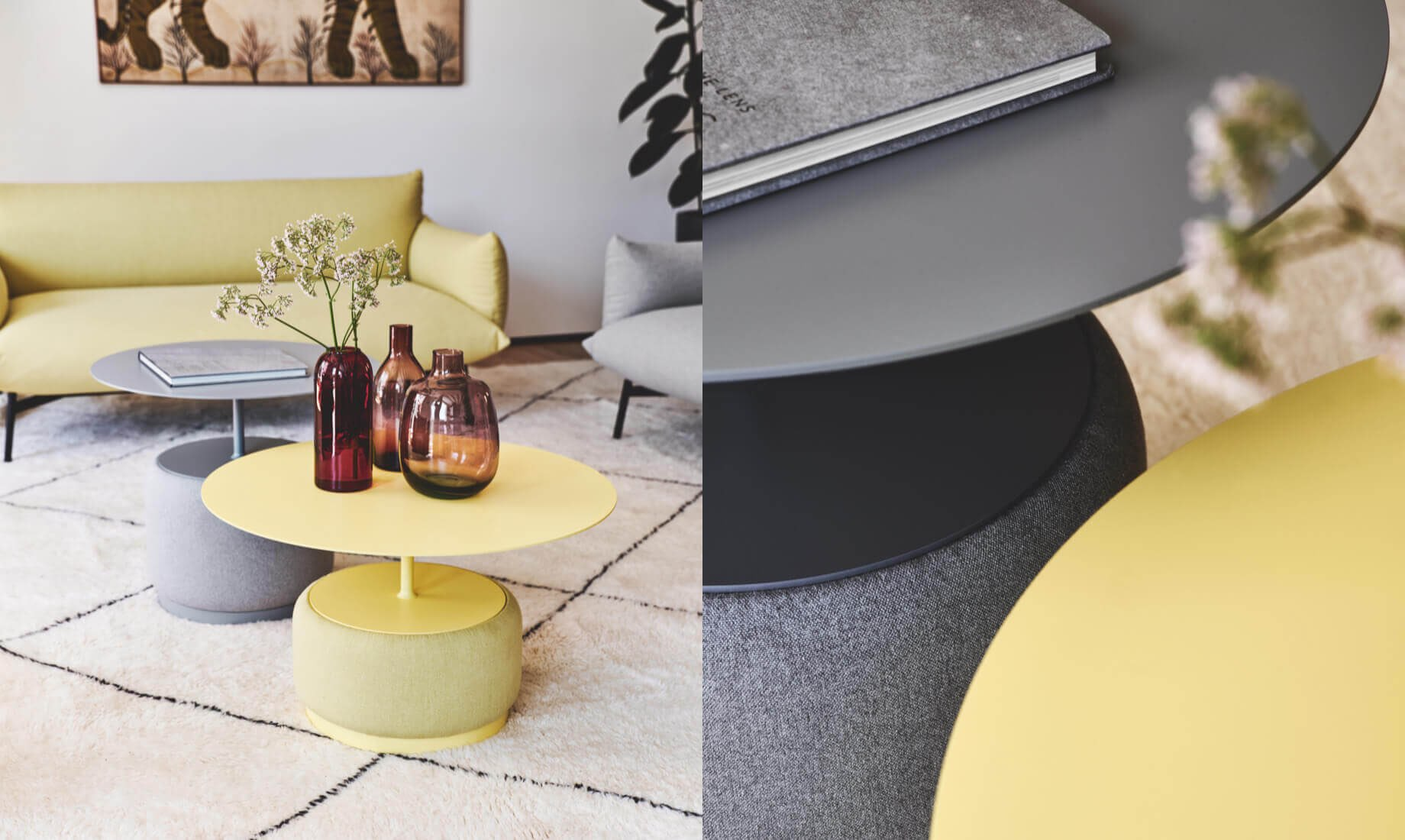 Midj - Pantone 2021- Bloom Coffee table