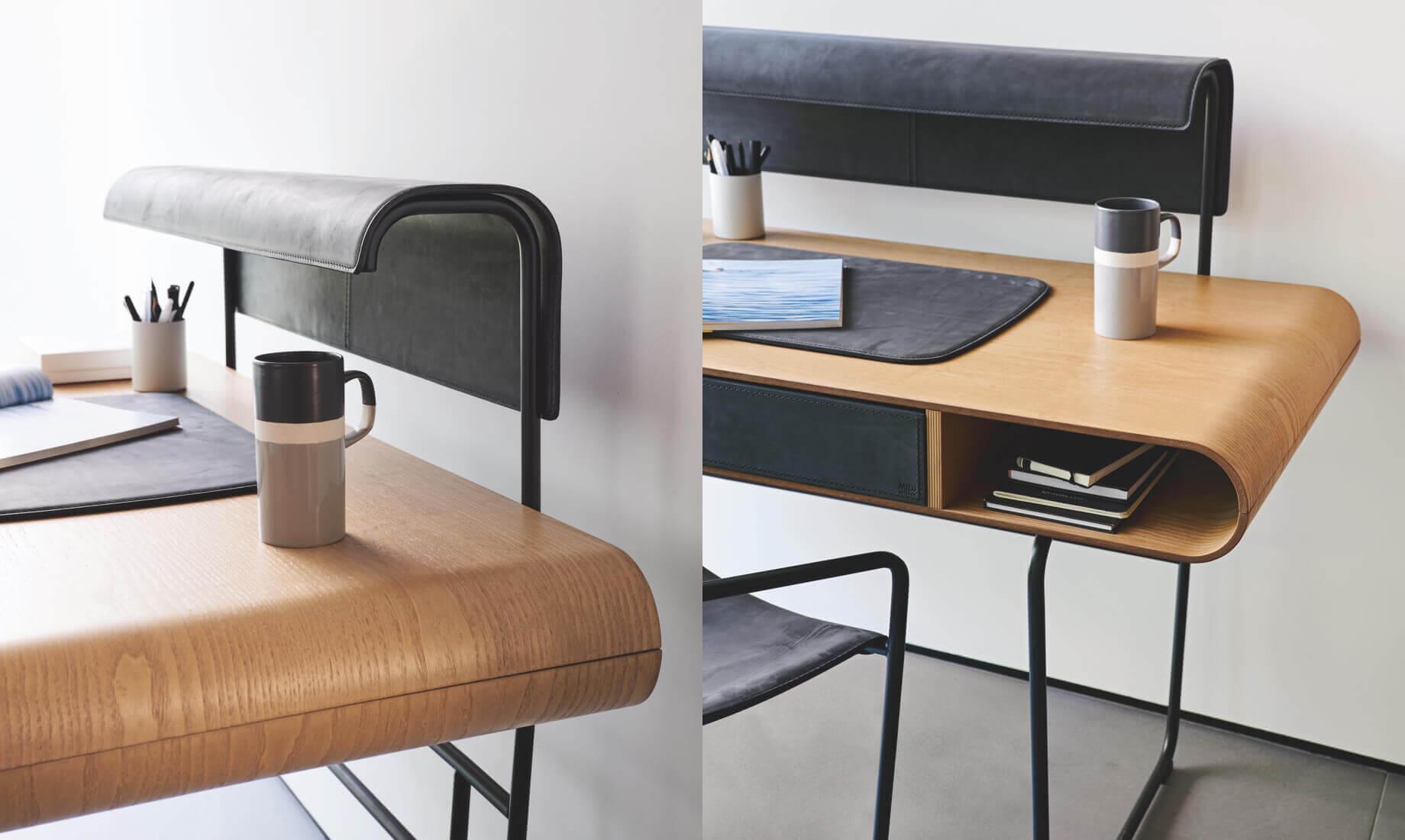 Apelle desk with LED lamp - Midj