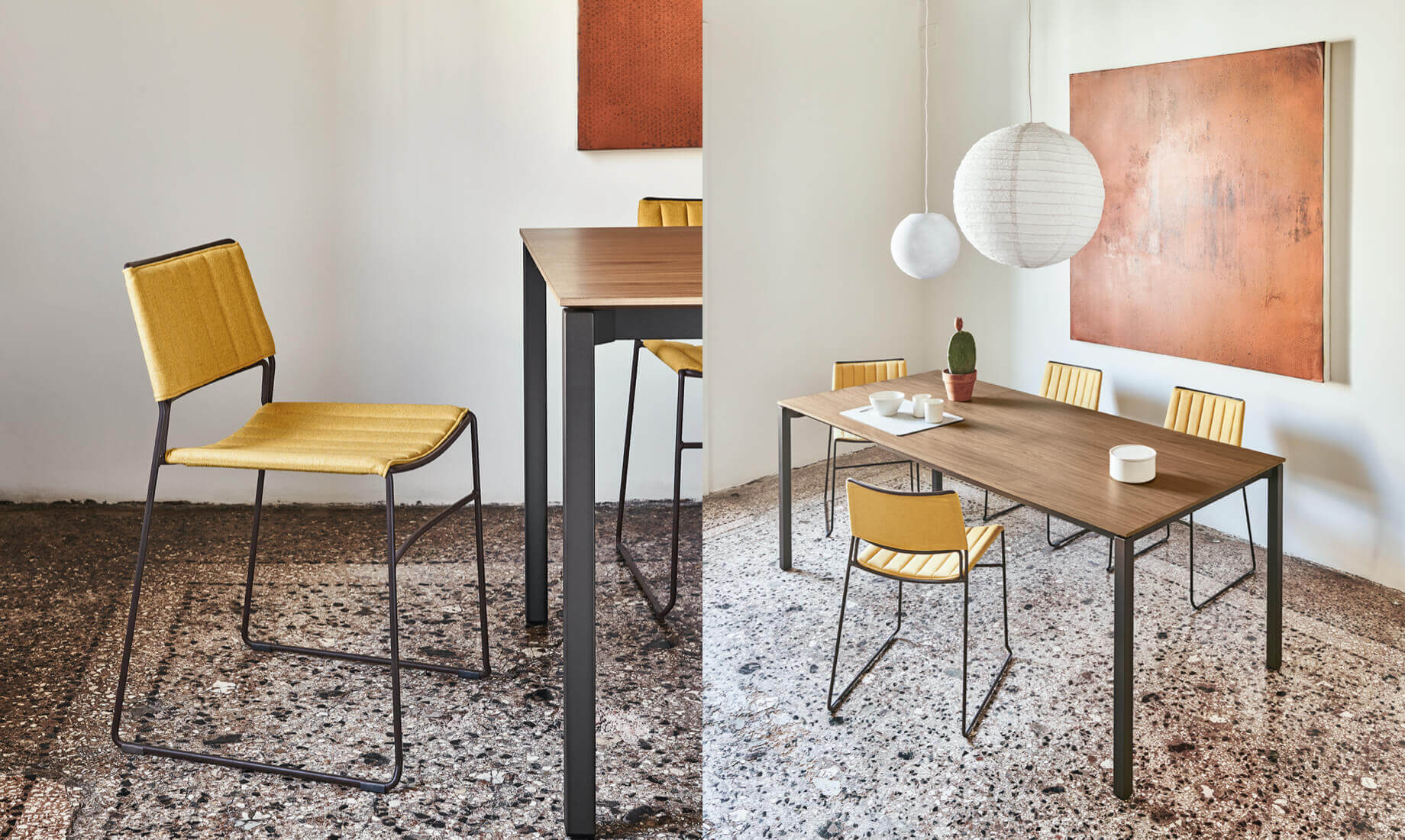 Midj - Pantone 2021 - Slim chair
