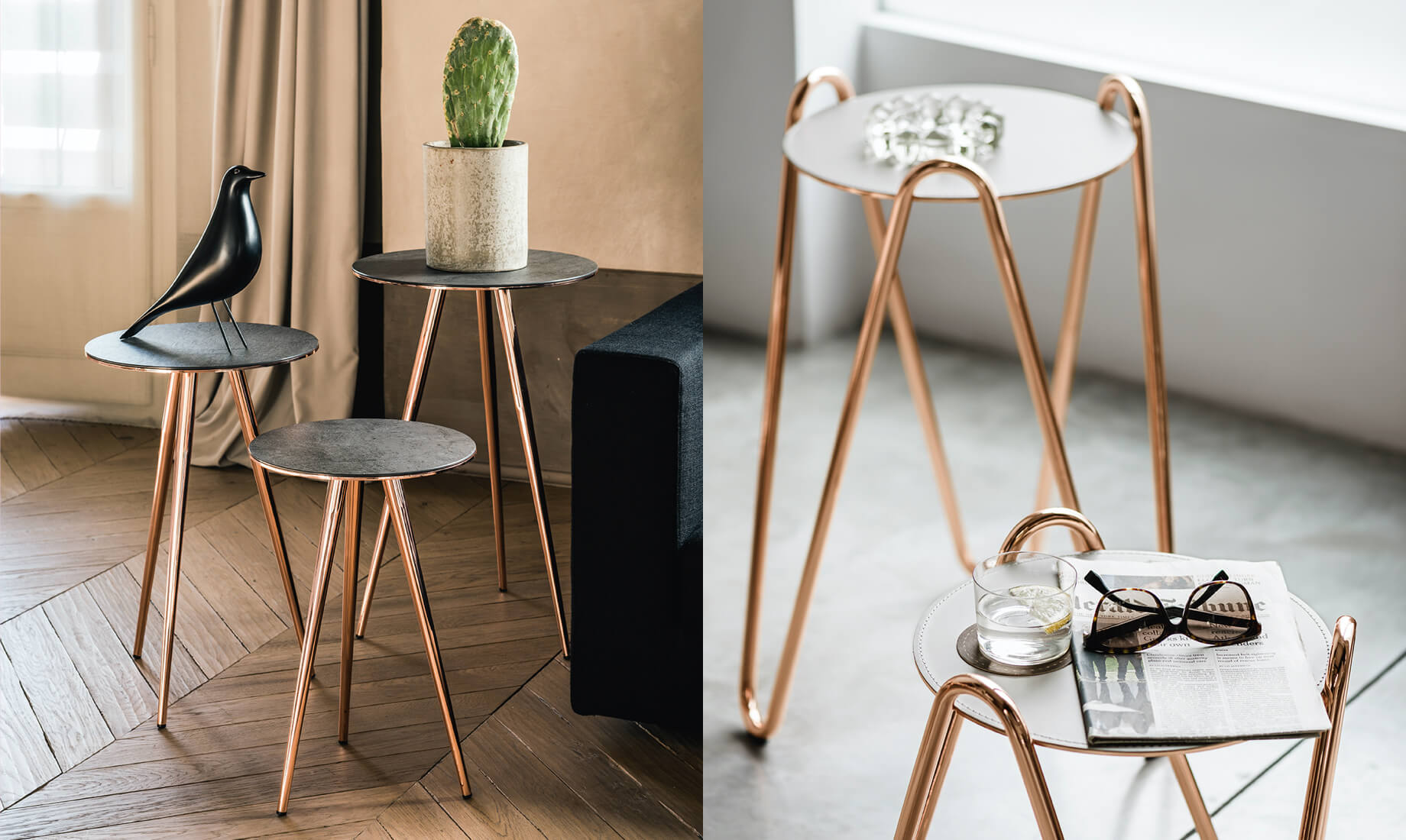 Midj - Coffee table a side table Trip e Apelle