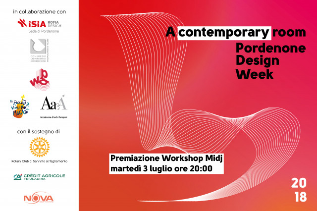 Award cerimony Midj Workshop @ Pordenone Design Week