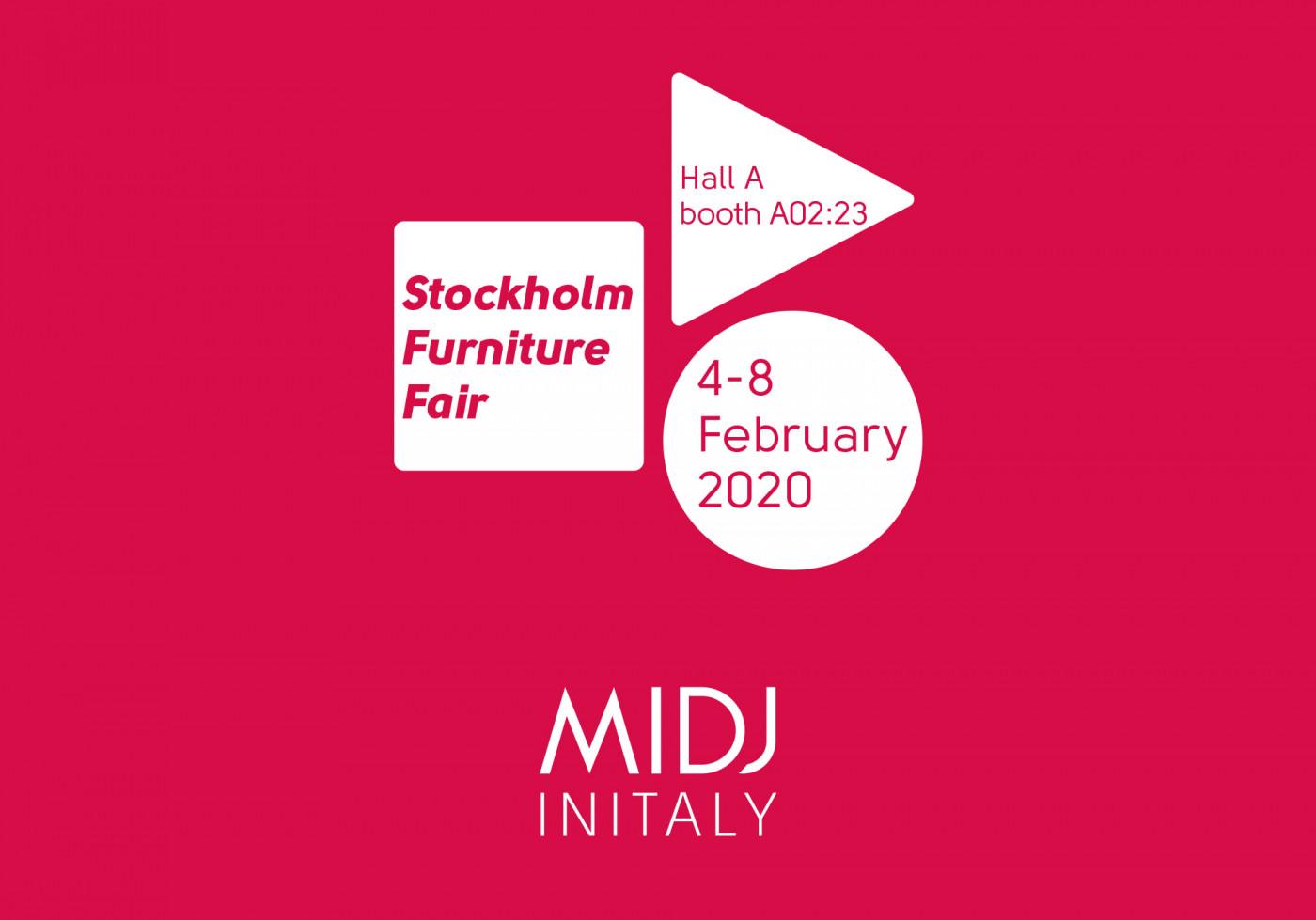 Nous sommes prêts pour Stockholm Furniture & Light Fair