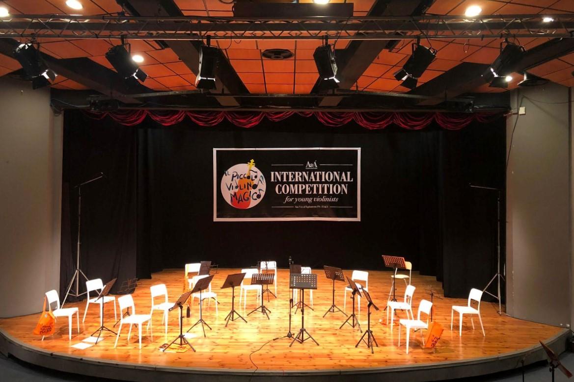 Midj sponsor del concorso internazionale Il Piccolo Violino Magico 2021