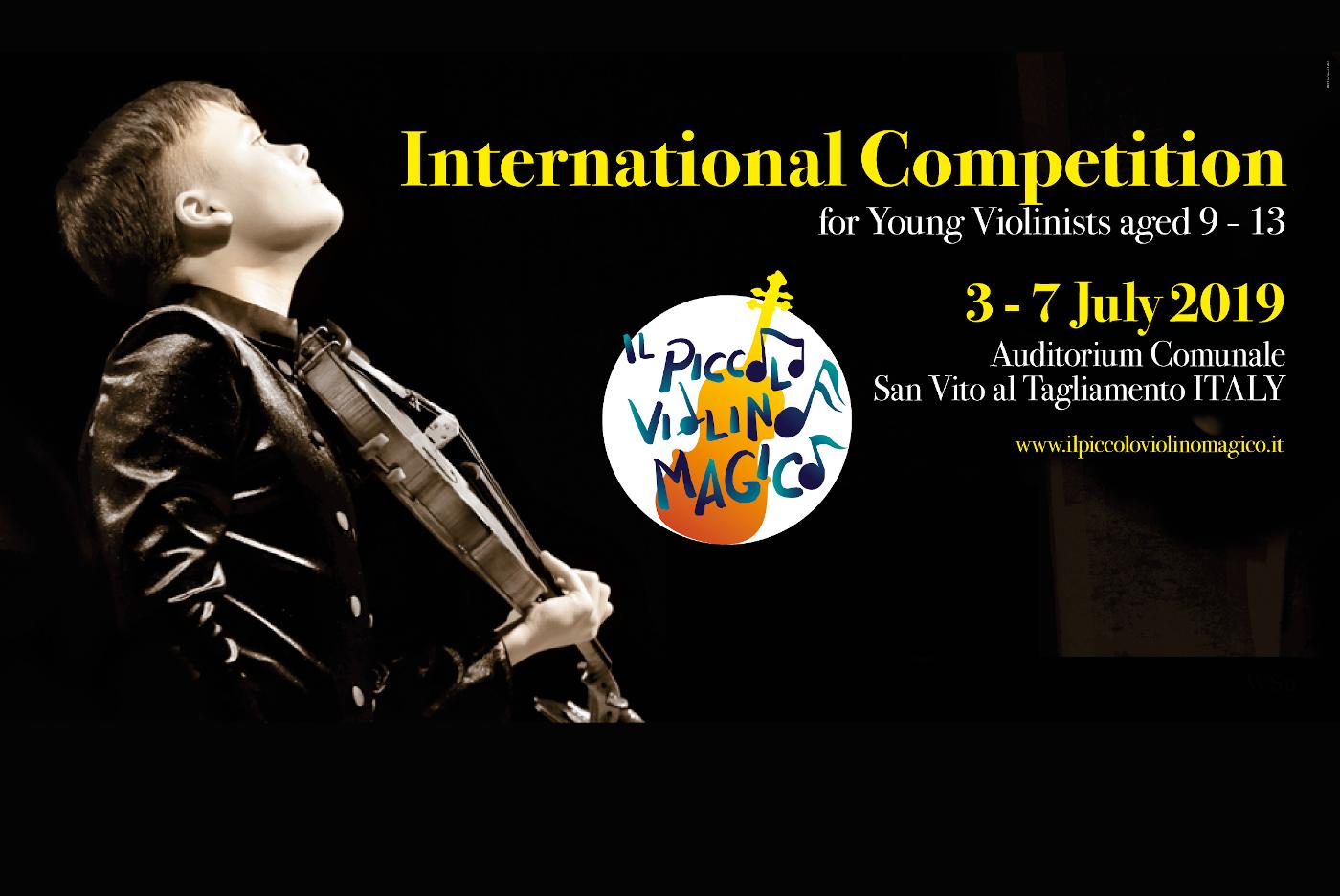 """Midj partner of the 4th edition of """"Il Piccolo Violino Magico"""""""