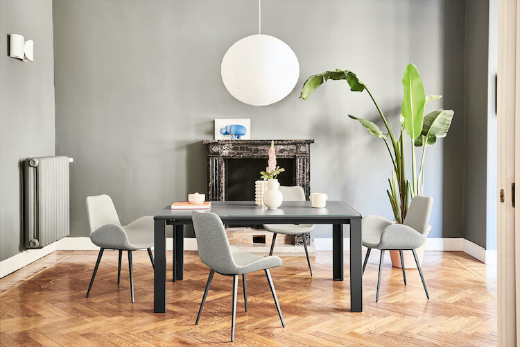 Marcopolo table and Dalia chairs
