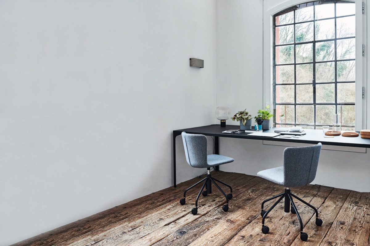 Home Office: a new approach to work, while looking at the world