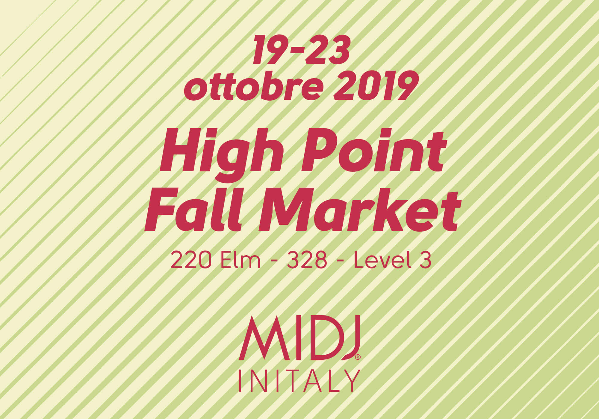 High Point Fall Market 2019