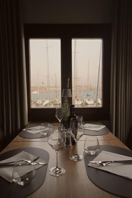View from San Giorgio Café's Venice