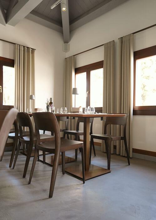 Nenè wooden chair at San Giorgio Café's in Venice