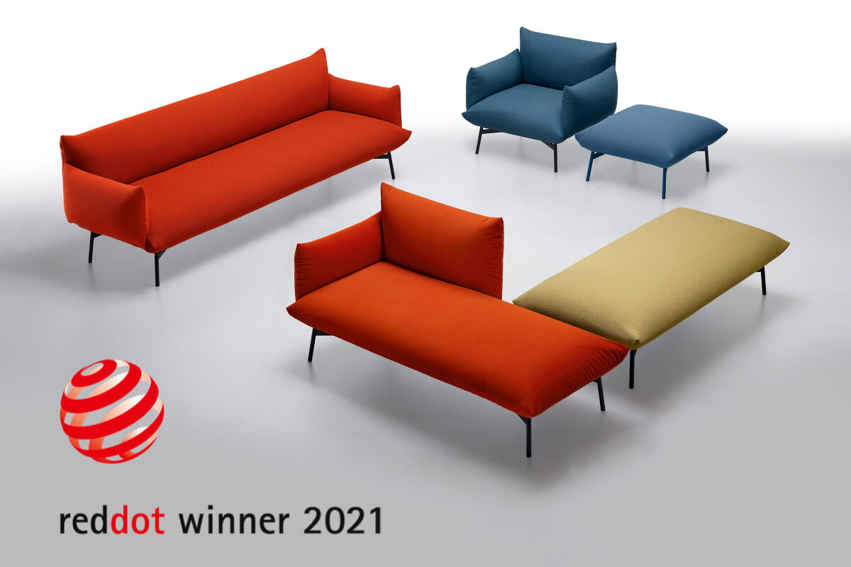 Area wins the Red Dot Design Award 2021