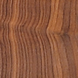 Solid Walnut bark edge