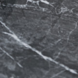 Black greek glossy marble ceramic