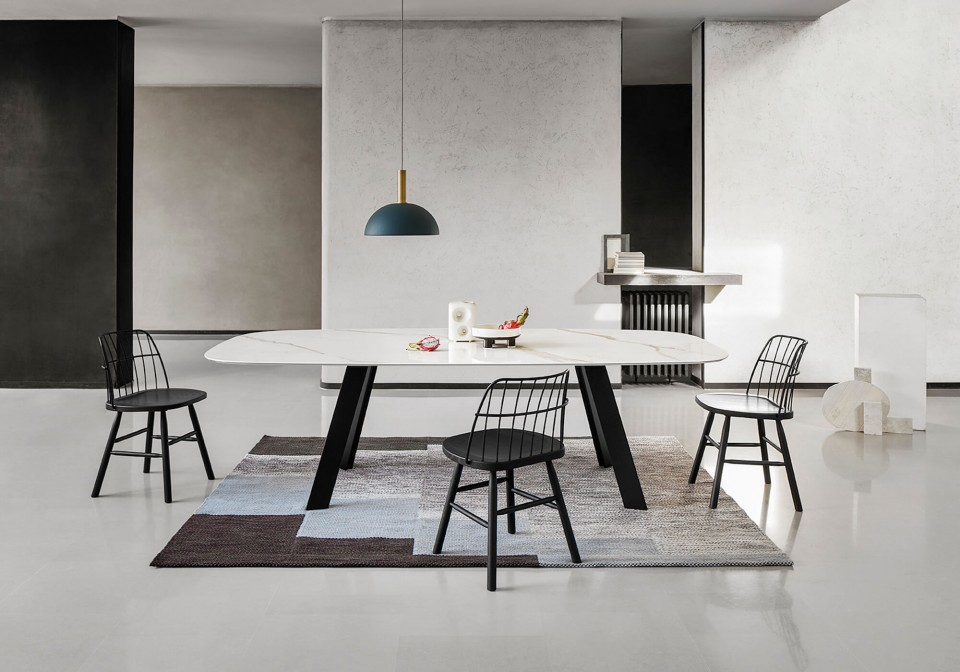 Fixed table Alexander by Midj made in Italy