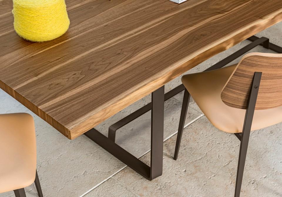 Midj Alfred tavolo in legno