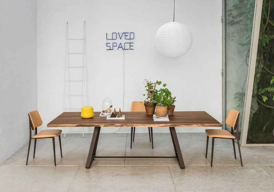Midj Alfred tavolo di design da soggiorno