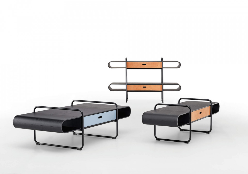 Apelle low furniture with one and two drawers