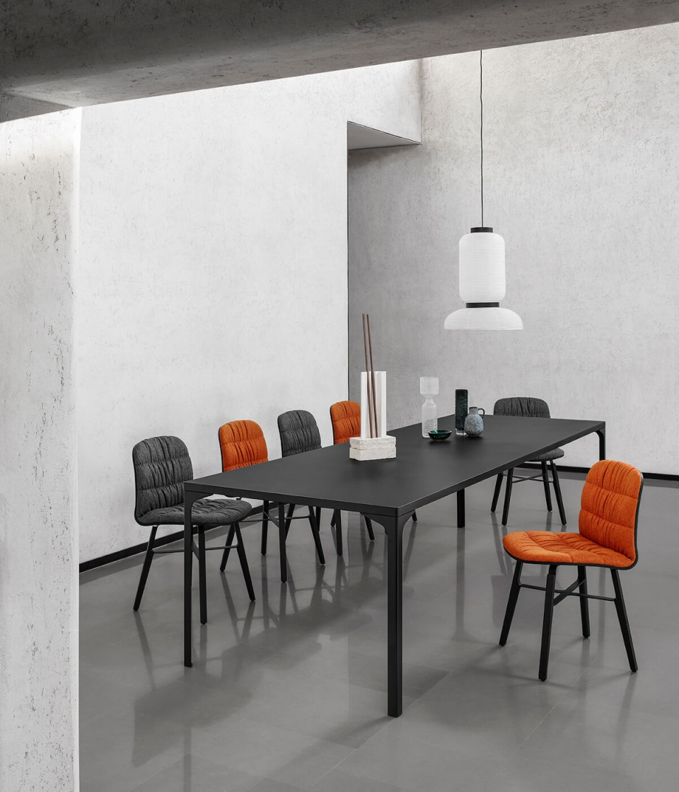Armando Midj table for open space room up to 10 guests