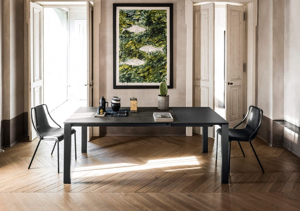 Badù extendable table for kitchen