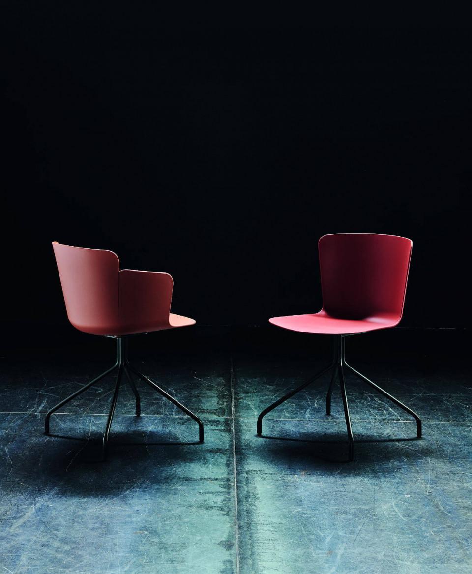 Chaise avec accoudoirs Calla