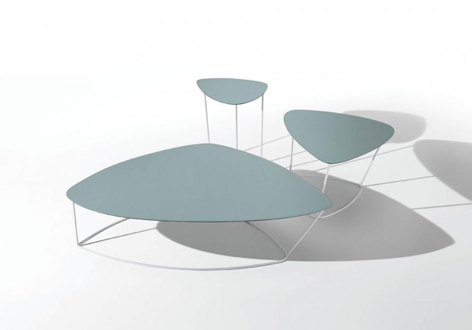 Collection complète de tables basses Guapa en tailles petites, moyennes et grandes