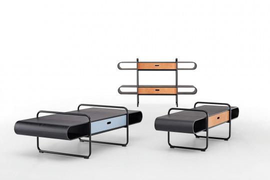 Mobili bassi Apelle con uno e due cassetti