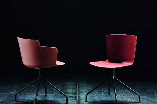 Calla chair and armchair