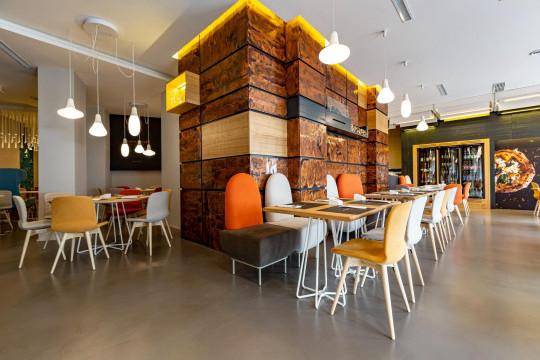 granammare pizzeria mobili design midj in italy