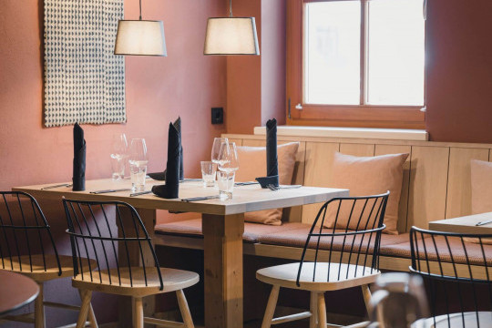 Nordic design Strike restaurant chairs