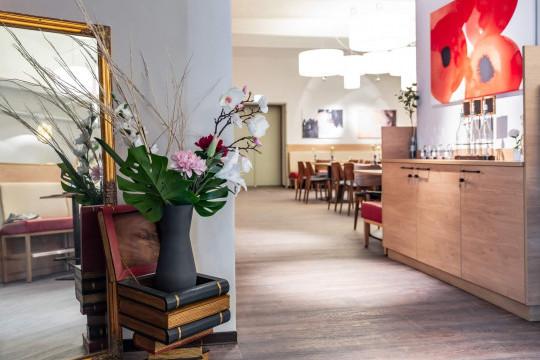 sedie della collezione joe di midj a vienna nella mensa bistro refresh