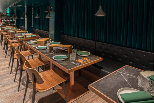 chairs from joe collection midj at sesonki gastro pub